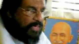 Boolokam Online video news cast - SRI. K J Yesudas on non-violance , god, Indian music - Part 1