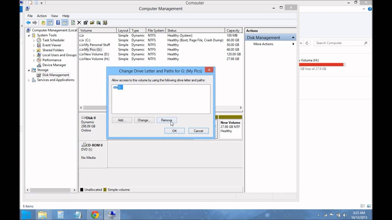 How To Hide And Show Hard Disk Drives In