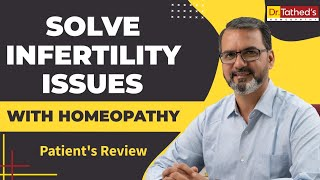 Patient facing pregnancy issues treated with homoeopathy treatment at Dr. Tathed, Pune