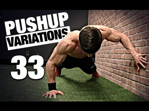 81fa372a1d 33 Pushup Variations (ALL LEVELS!) - YouTube