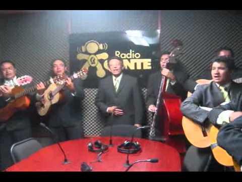 Rondalla Romance de Celaya en Radio Gente Saltillo- Amarte es Un Placer