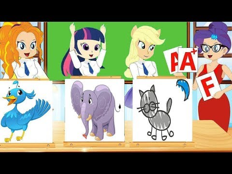 Equestria Girls Princess Animation Series - Twilight Sparkle Cutie Mark And Friends Collection #395
