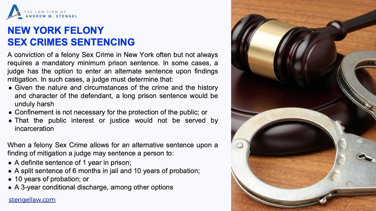 Felony Sex Crimes Lawyer NYC | The Law Firm of Andrew M  Stengel