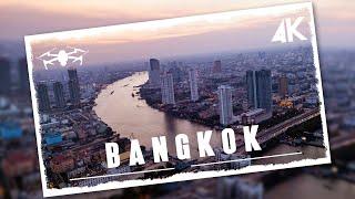 Fascinating aerial views of Bangkok in 4K