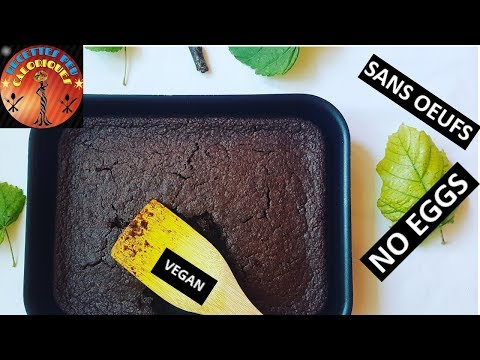 172kcal➡️🍫gâteau-au-chocolat-healthy-sans-oeufs- -healthy-chocolate-cake-no-eggs-🍫