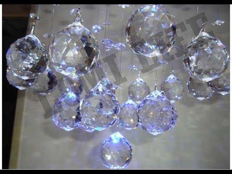 Como Instalar Um Lustre De Cristal Com Lampada De Led Comprado Na