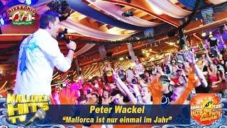 Peter Wackel - Malle ist nur einmal im Jahr - Ballermann Hits 2015