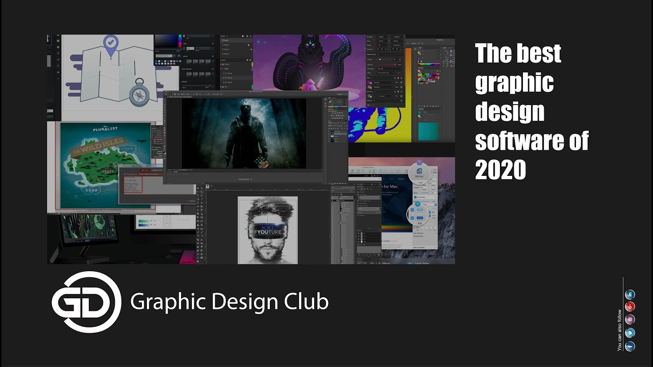 The Best Graphic Design Software Of 2020 Youtube