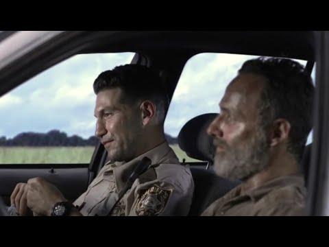 The Walking Dead 9x05 - Rick & Shane Hallucination