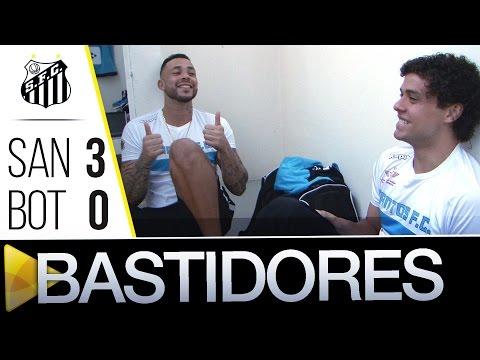 Santos 3 x 0 Botafogo | BASTIDORES | Brasileirão (05/06/16)