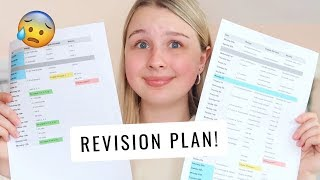 How I've planned my revision between NOW & EXAMS!