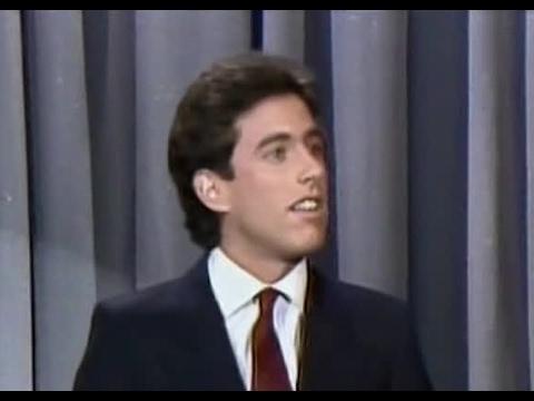 Jerry Seinfeld, Tonight , 1983