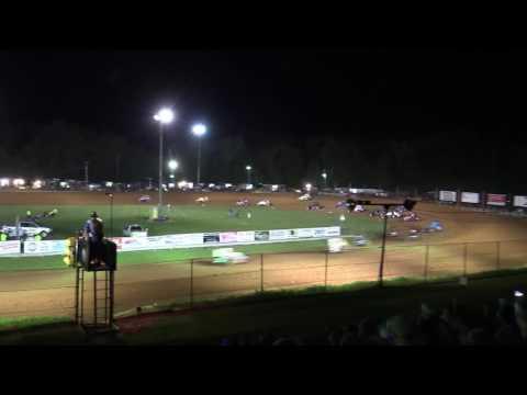 Bloomington Speedway   5.26.17   Non Wing Sprints   Josh Burton Memorial   Feature