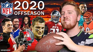 2020 NFL FREE AGENCY AND OFFSEASON!