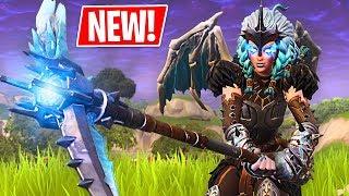 🔴 NEW Legendary Valkyrie Skin & Dragon Glider!! (Fortnite Battle Royale)