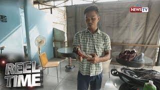 Reel Time: Lalaking isa lang ang kamay, pumapasok sa trabaho gamit ang kaniyang bisikleta
