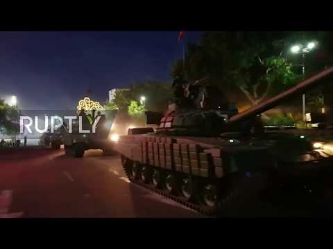Nicaragua: Russian tanks paraded in Managua's 40th military procession