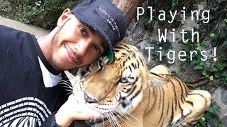 Playing With Tigers, Lions & Jaguars in Mexico City! | Lewis Hamiltion Snapchat Vlog