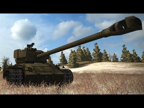 ◀World of Tanks - Meet The Super Pershing