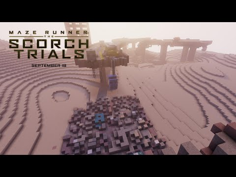 Maze Runner: The Scorch Trials  Wes Ball Minecraft Mod  HD  20th Century FOX