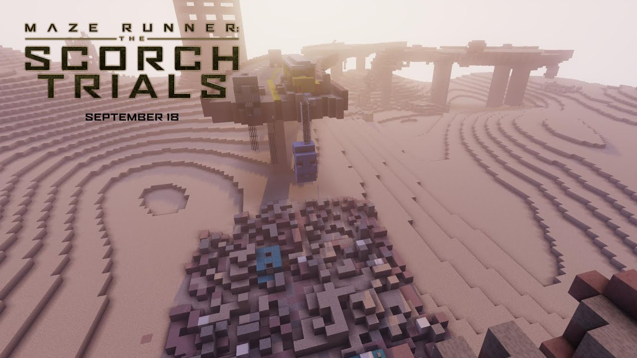 Maze Runner The Scorch Trials Wes Ball Minecraft Mod Interview Hd Th Century Fox Youtube