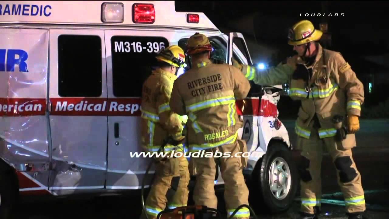 AMR California Crash Scene - Journal of Emergency Medical