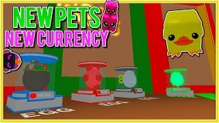 GRINDING THE NEW TOY PETS AND BLOCK CURRENCY - Roblox Bubble Gum Simulator NEW UPDATE!
