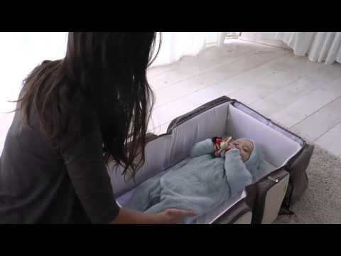 BagyBed - 3 in 1 Travel Bassinet for Babies And Diaper Bag