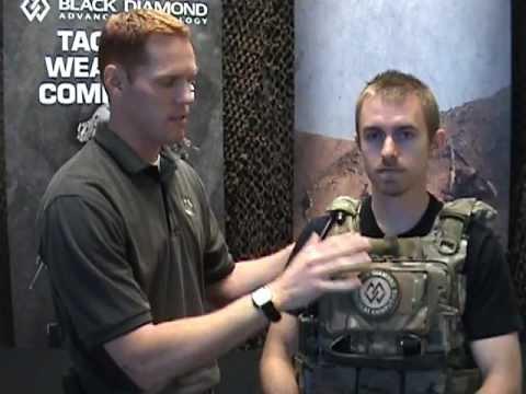 MTS-RBAV quick-release demo of Black Diamond Advanced Technology Modular Tactical System MTS