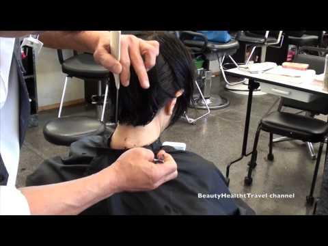 Haircutting: Sang 3: wet quick short cut