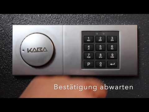 Tresortechnik Jarz - Bedienung Code Combi B30