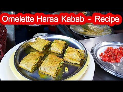 Anda Kabab - How to make ? | Yummy Egg Dish Recipe Surat City , Gujarat | Indian Street Food