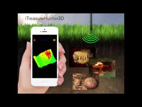 TreasureHunter - 3D metal detector that makes underground tr