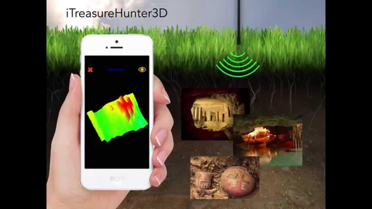 TreasureHunter - 3D metal detector that makes underground treasures visible