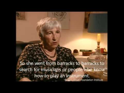 Holocaust survivor Esther Bejarano on Auschwitz Camp Orchestra
