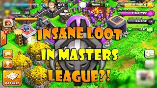 Masters League, best loot for TH9 Farming Post Update?! Live Daily Star Bonus & Loot Cart Gameplay