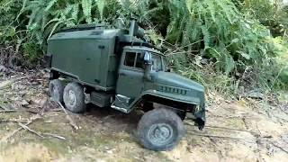 WPL B36 1:16 6WD RC Off-Road Military Truck Toy - Gifts for Kids