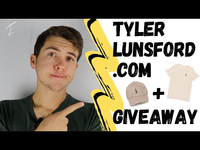 TYLERLUNSFORD.COM HAS ARRIVED... ANNOUNCEMENTS & GIVEAWAY!!