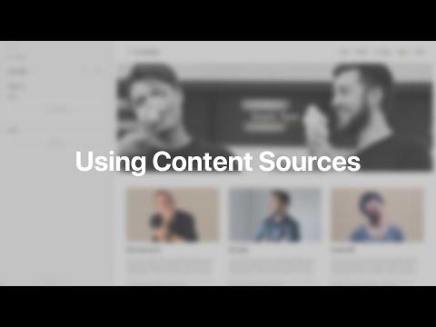 Using Content Sources   YOOtheme Documentation (Joomla)