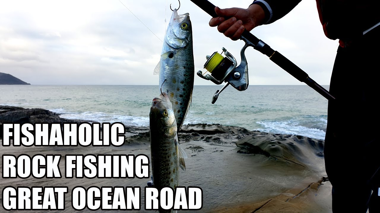 Rock Fishing | Great Ocean Road | Australian Salmon