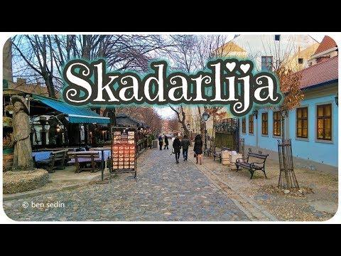 Skadarlija - Belgrade, Serbia (winter 2017/18)