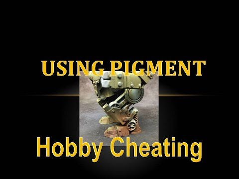 Hobby Cheating 109 - How to Use Pigment