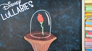 8 HOURS of Disney's Beauty and the Beast ♫ Chalk Art Lullaby for Babies