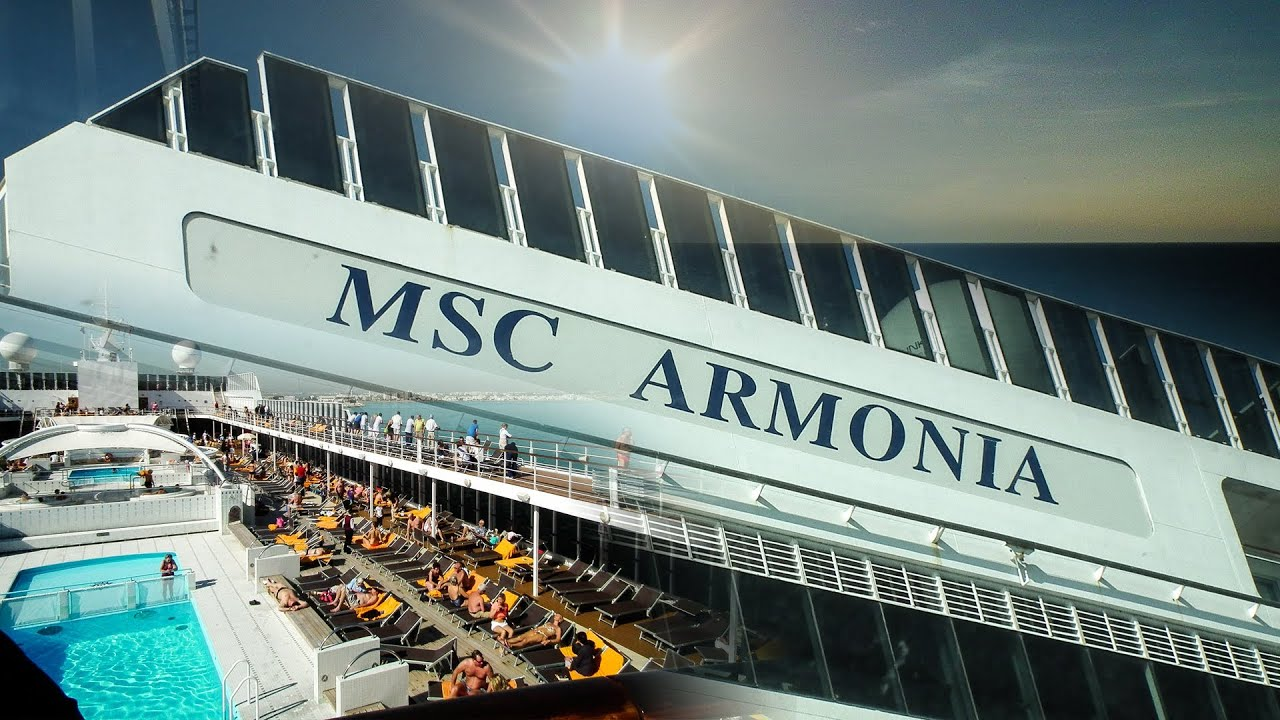 MSC Armonia Fan Video YouTube - Msc armonia