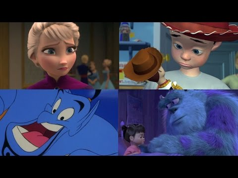 Top 20 Disney Movies Theories | blameitonjorge
