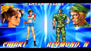 PlayStation Longplay Genei Tougi: Shadow Struggle Chiaki / プレイステーション 幻影闘技 ちあき & ED集
