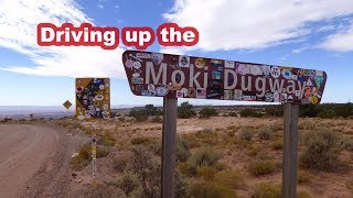 Driving the Moki Dugway - the most dangerous road in the US?
