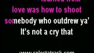 Alexandra Burke Hallelujah Karaoke