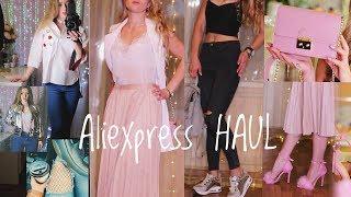 Aliexpress покупки одежды и аксессуаров до 1300 руб с примеркой ЧАСТЬ 1 💞 Лето 2017