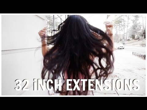GETTING 32 INCH HAIR EXTENSIONS